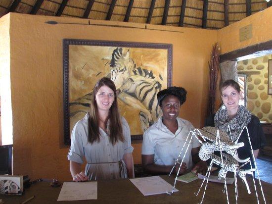Motswari Private Game Reserve: The Front Desk