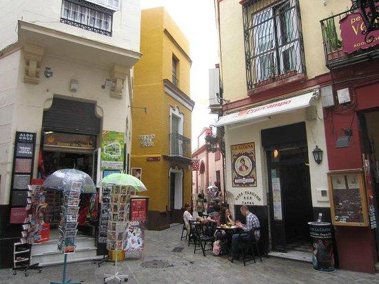 Barrio Santa Cruz : vers gago