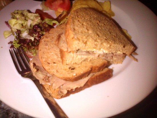 Best Western Plus Bentley Hotel & Spa: Roast Beef Sandwich