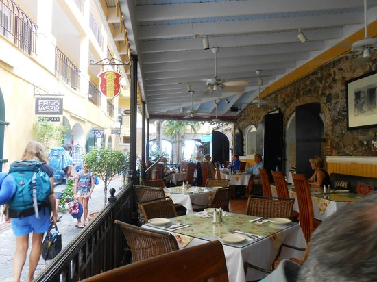 Amalia Cafe: View from the Restaurant