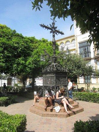 Barrio Santa Cruz : place santa cruz