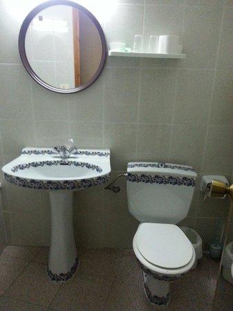 Hostel La Muralla: Baño1