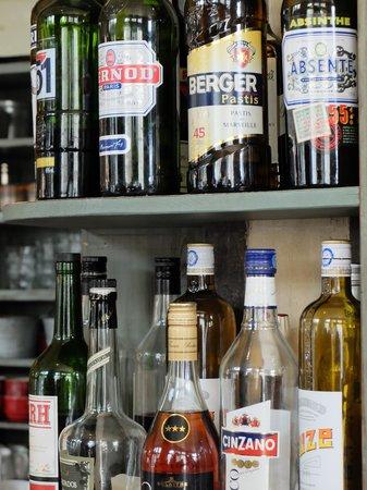 Ginette et Marcel : bar
