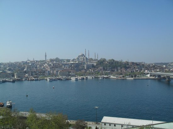 Istanbul Golden City Hotel: View from the hotel room