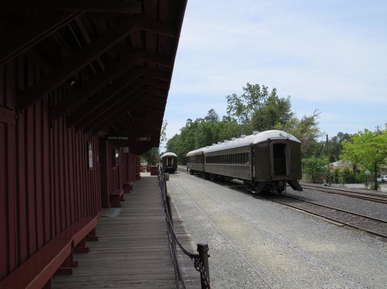 Railtown 1897 State Historic Park: scene often seen in old movies