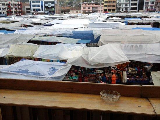 Balcon de Imbabura: Saturday market