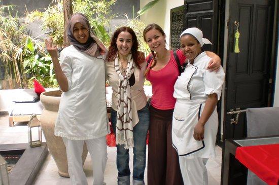 Riad Villa Wenge: Riag Villa Wenge Staff