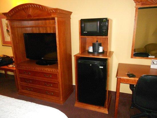 Hampton Inn Orlando - Florida Mall : TV, microondas e frigobar