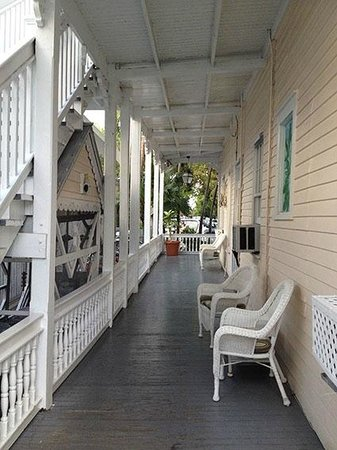 The Palms Hotel- Key West: veranda