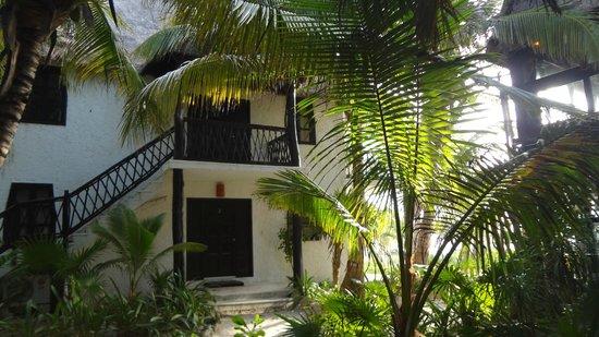 Los Lirios Hotel Cabanas: Vista de las cabañas