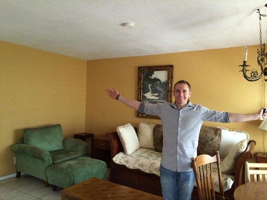Ebb Tide Oceanfront Resort in Pompano Beach, Florida: Unit #14 Living Room
