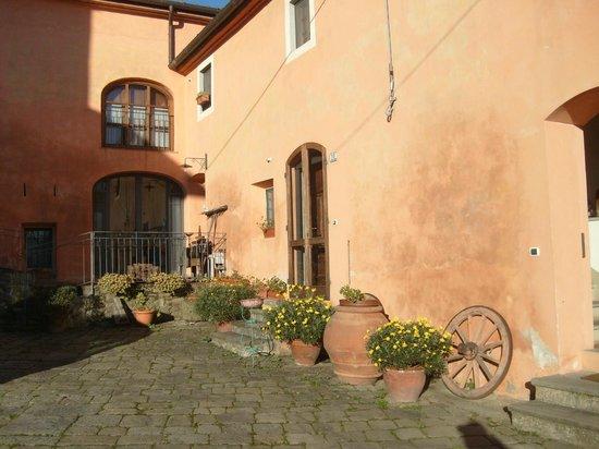 Agriturismo Villa Pacinotti: un angolo della corte