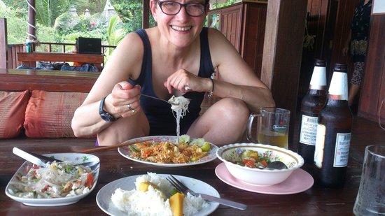 PD Resort : Dinner in the restaurant
