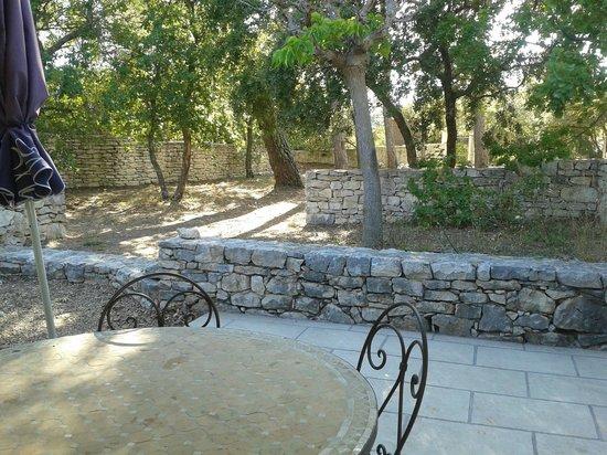 Residence Bastide des Chenes: Terrasse privée