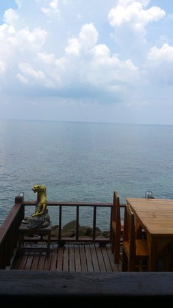 PD Resort : View from the restaurant