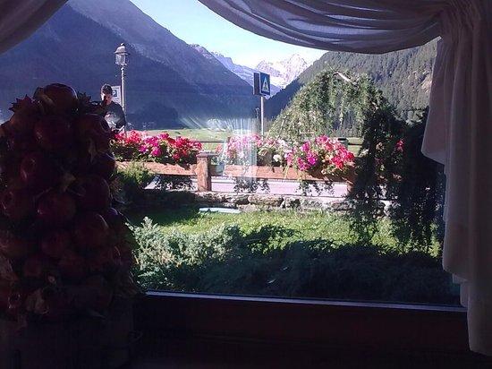 Hotel Miramonti: vista dal ristorante