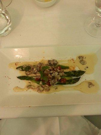 Restaurant Mariette : The best asparangus ever!!!