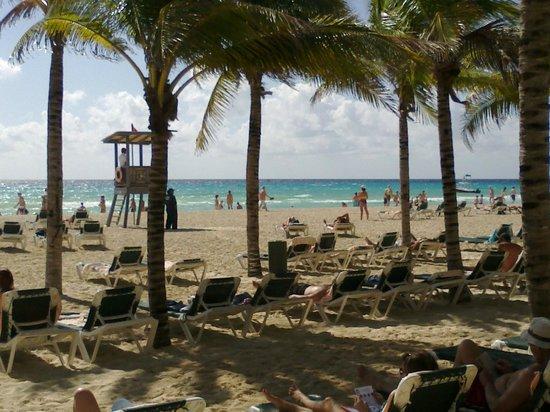 Hotel Riu Playacar : Hermosa playa!!