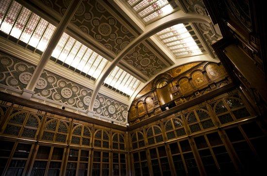 Library of Birmingham: Shakespeare room ceiling