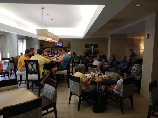 Hampton Inn Wilmington Medical Park: Dining Area