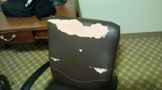 Country Inn & Suites By Carlson, Columbus (Fort Benning): Office Chair in Living Area