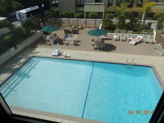 Sheraton Fisherman's Wharf Hotel : pool view