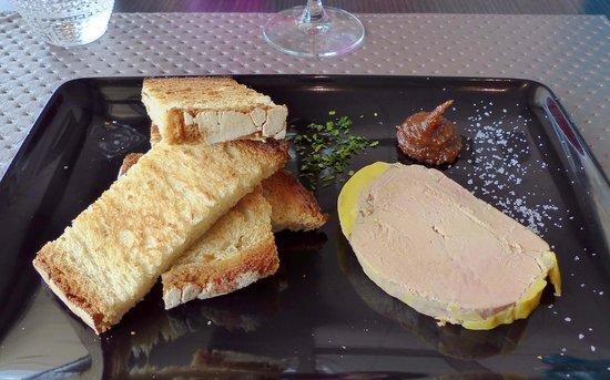 Hissez O : un foie gras plus épais qu'à l'ordinaire