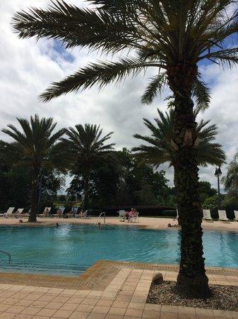Reunion Villas: Seven eagles club house pool