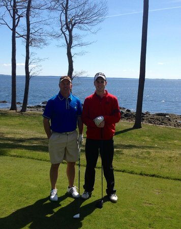 Samoset Resort On The Ocean: View from hole15