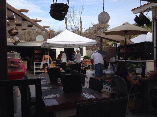 Penny Lane Cafe : Farmer's market