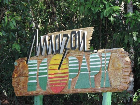 Amazon Ecopark Jungle Lodge: Chegada