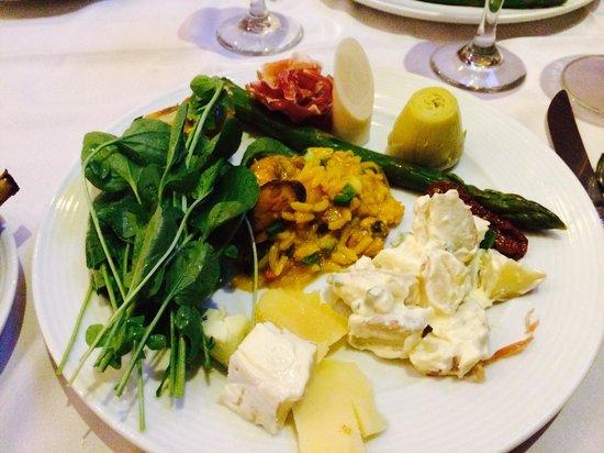 Churrascaria Palace: From the salad bar