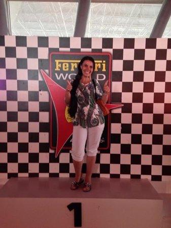 Ferrari World Abu Dhabi : после той самой Formula Rosso!!!!