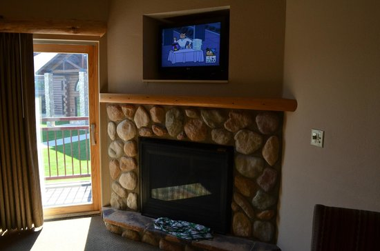 Great Wolf Lodge: Family Fireplace Room