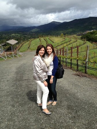 Lonnie's Wine Tours & Transportation: At Porter Family Winery