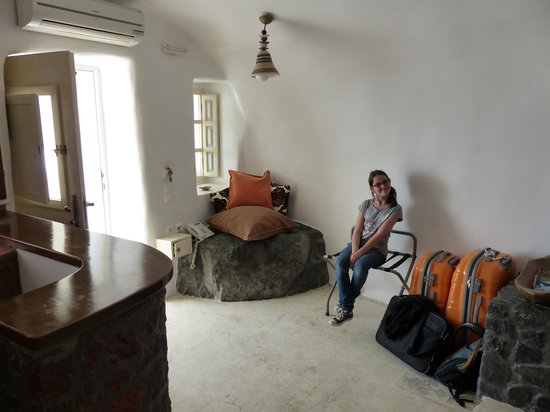 Art Maisons Luxury Santorini Hotels Aspaki & Oia Castle: Coin repos !