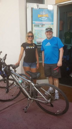 Bike and Roll Miami: Great tour ... super tour guide