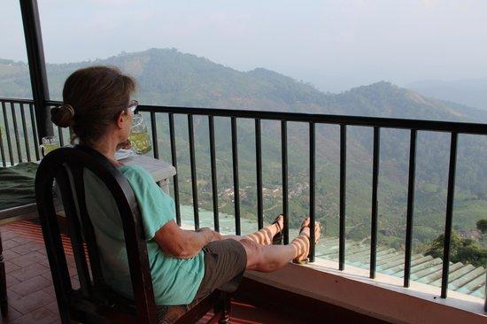 Green Magic Home : vue imprenable depuis le balcon