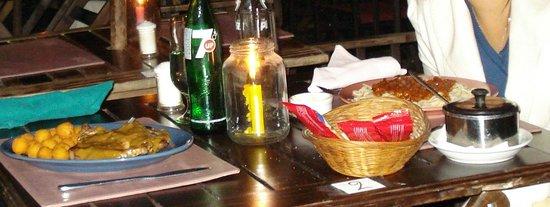 Pulperia de los Faroles: Jantar!!!