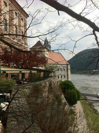 Hotel Schloss Dürnstein: Donau Terrasse