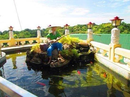 Taoist Temple : temple pond
