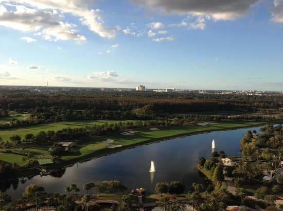JW Marriott Orlando, Grande Lakes: View from Bedroom Balcony