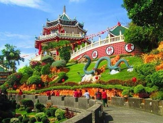 Taoist Temple : view from the entrance