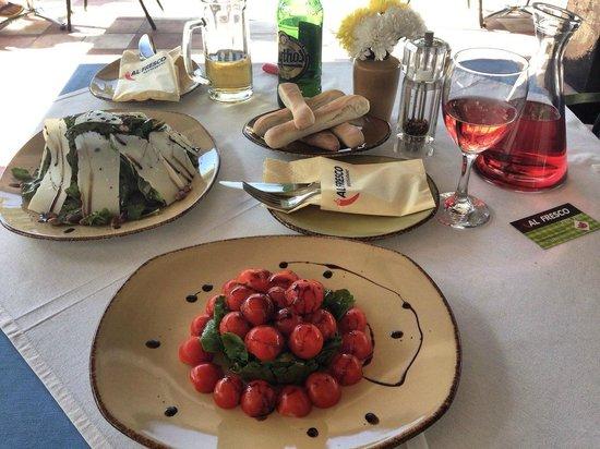 Al Fresco: салат