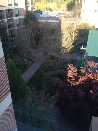 Doubletree Hotel Biltmore / Asheville: Courtyard Aerial