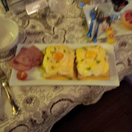 Pencarrow: Fluffy eggs