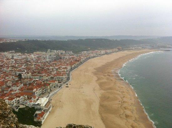 Praia da Nazare: The beautiful coastline of Nazare