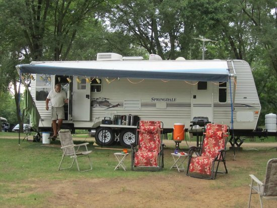 Indian Trails Campground: my trailer