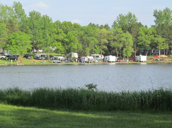 Indian Trails Campground: another across the lake