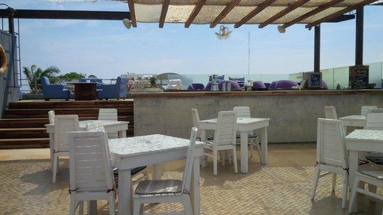 Be Playa Hotel: Bar en el Techo